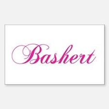 Bashert Rectangle Decal