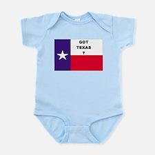 Got Texas ? Infant Creeper