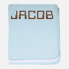 Jacob Circuit baby blanket