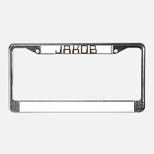 Jakob Circuit License Plate Frame