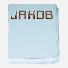 Jakob Circuit baby blanket