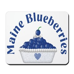 Blueberry Delight Mousepad