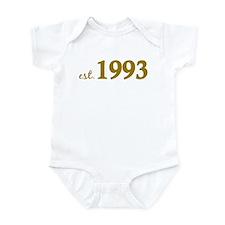 Est 1993 (Born in 1993) Infant Bodysuit