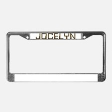 Jocelyn Circuit License Plate Frame