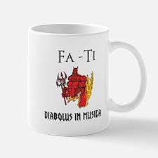 Diabolus in musica Mug