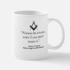 Harry S. Truman Quote Mug