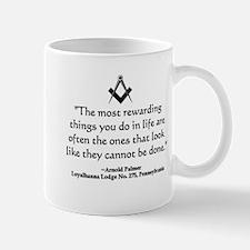 Arnold Palmer Quote Small Small Mug