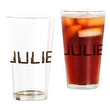 Julie Circuit Drinking Glass