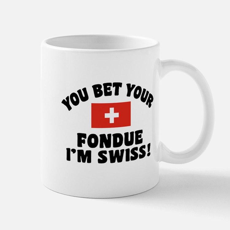 Funny Swiss Fondue Mug