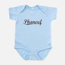 Phaneuf, Vintage Infant Bodysuit