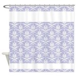 Damask Pattern Shower Curtain