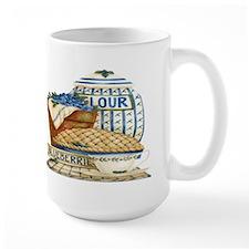 Blueberry Fixin's Ceramic Mugs