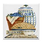 Blueberry Fixin's Tile Coaster