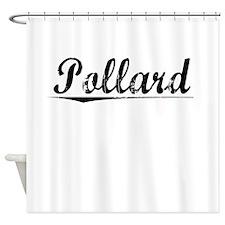 Pollard, Vintage Shower Curtain