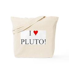 I <3 Pluto Tote Bag