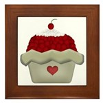 Cherry Delight Framed Tile