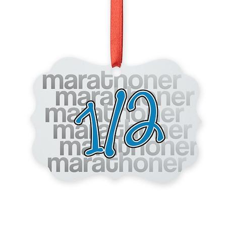 13.1 Half-Marathoner Picture Ornament
