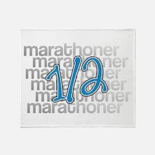13.1 Half-Marathoner Throw Blanket