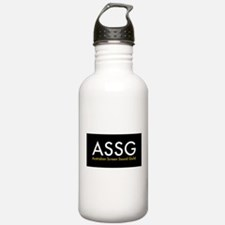ASSG Black (no tagline) Water Bottle