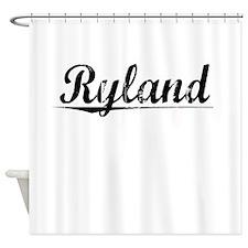 Ryland, Vintage Shower Curtain