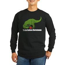 T-rex hates Christmas T
