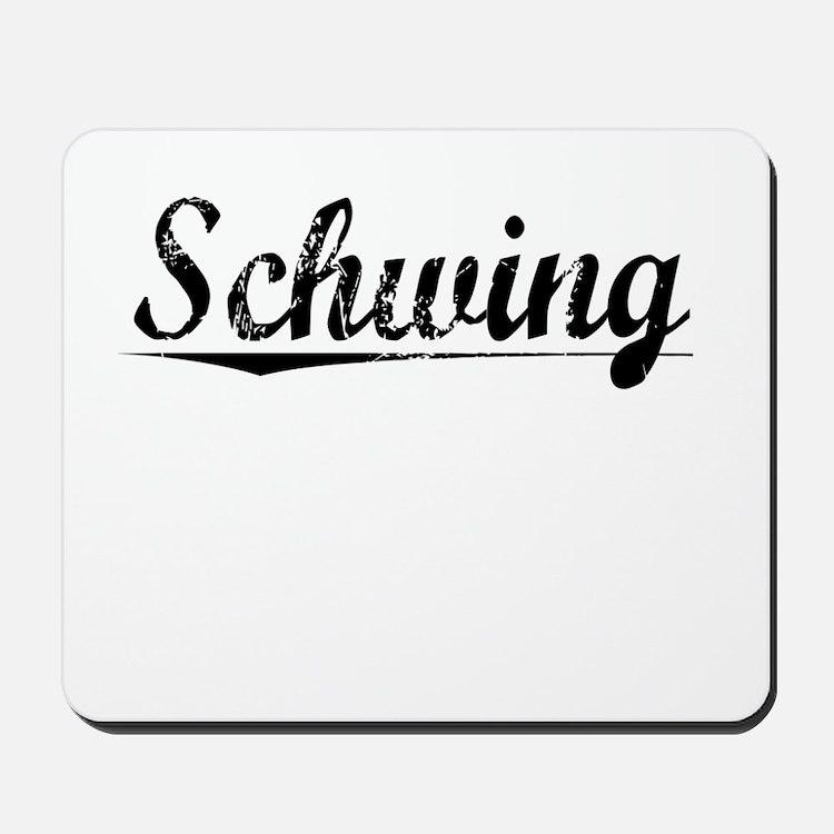 Schwing, Vintage Mousepad