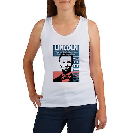 Abraham Lincoln 16th President Women's Tank Top