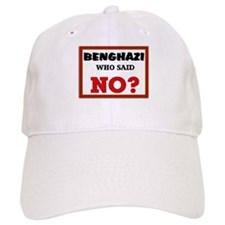 Benghazi Who Said NO? Baseball Cap