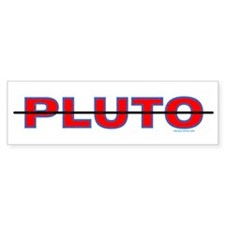 Pluto Deleted Bumper Bumper Sticker