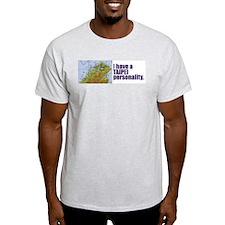 Taipei Personality - Ash Grey T-Shirt