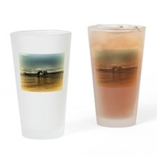 Naples Pier Drinking Glass