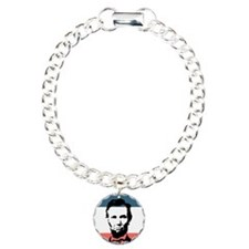 Abraham Lincoln 16th President Charm Bracelet, One