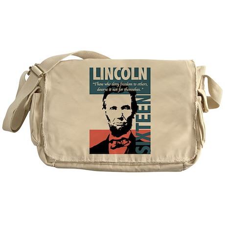 Abraham Lincoln 16th President Messenger Bag