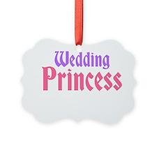 Wedding Princess Ornament