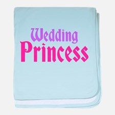 Wedding Princess baby blanket