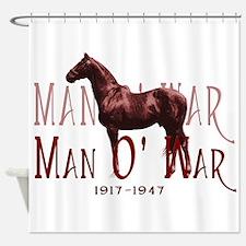 Man o War Shower Curtain