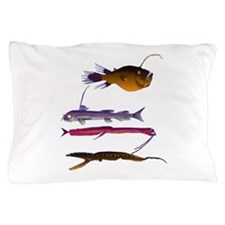 Deep Sea Fish Teeth Pillow Case