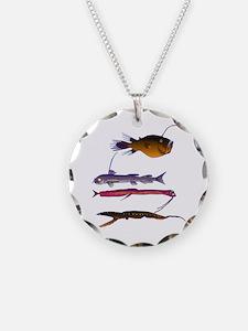Deep Sea Fish Teeth Necklace