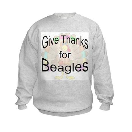 Thanks for Beagle Kids Sweatshirt