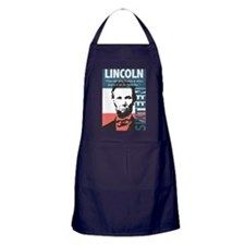 Abraham Lincoln 16th President Apron (dark)