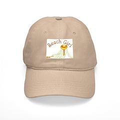 Beach Girl Baseball Cap
