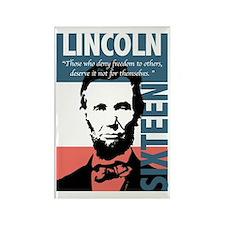 Abraham Lincoln 16th President Rectangle Magnet