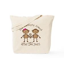 54th Anniversary Love Monkeys Tote Bag