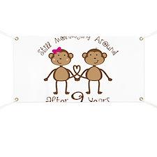 9th Anniversary Love Monkeys Banner