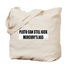 Pluto can still throw 'em Tote Bag