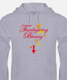 Thanksgiving Baby Blessing Hoodie
