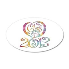 2013 Wall Decal
