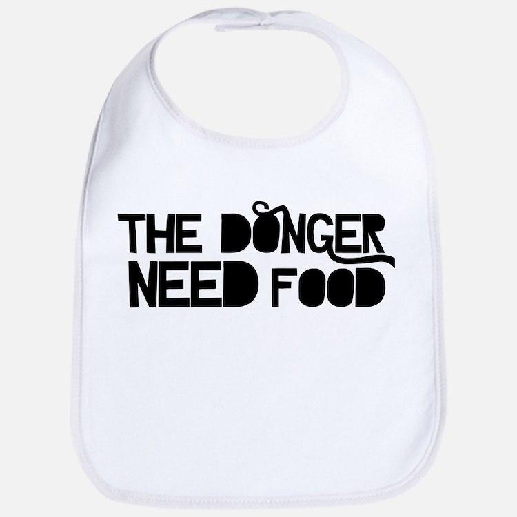 The Donger Need Food Bib
