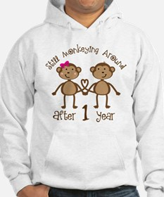 1st Anniversary Love Monkeys Jumper Hoody