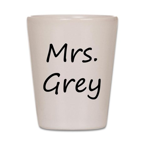 Mrs Fifty Shades of Grey Shot Glass